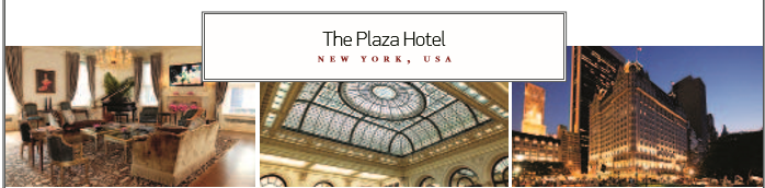 The Plaza Hotel  NEW YORK, USA