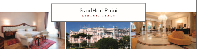 Grand Hotel Rimini RIMINI, ITALY