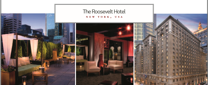 The Roosevelt Hotel NEW YORK, USA